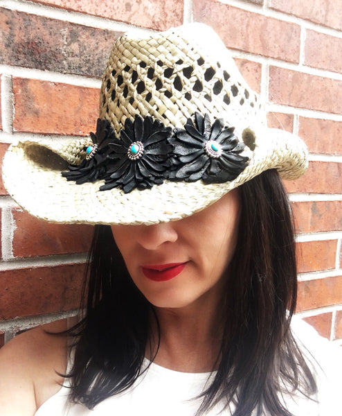 Straw Cowboy Hat - LoveCrazy Designs