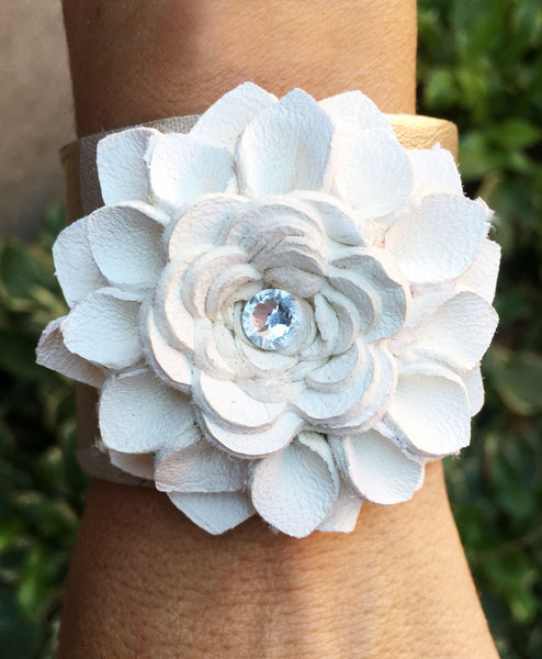 Maddox Flower Cuff - LoveCrazy Designs