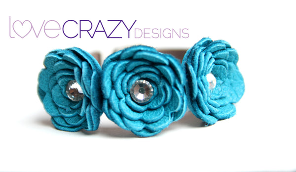 Allison 3 Flower - LoveCrazy Designs