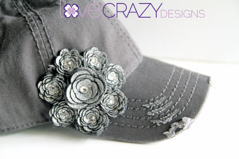 Baseball Hat, Women's Baseball Hat - LoveCrazy Designs