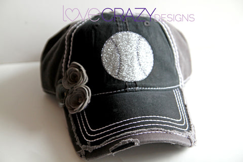 Baseball Hat, Baseball Mom Hat - LoveCrazy Designs