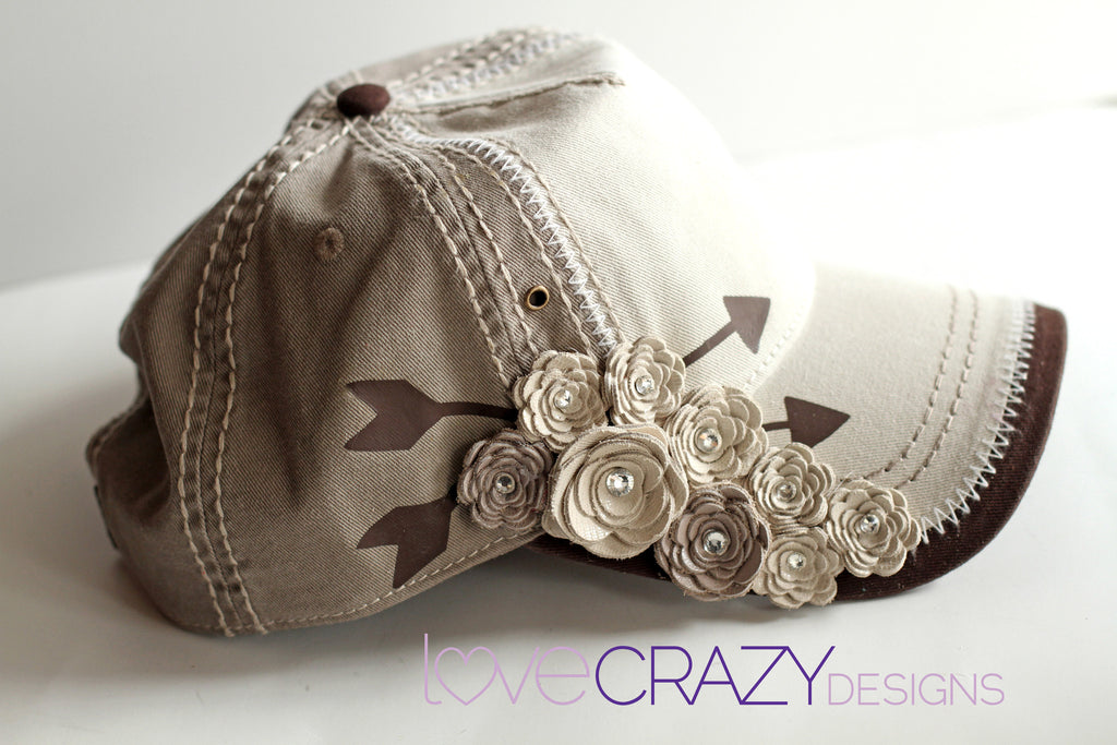 Baseball Hat, Arrow Hat - LoveCrazy Designs