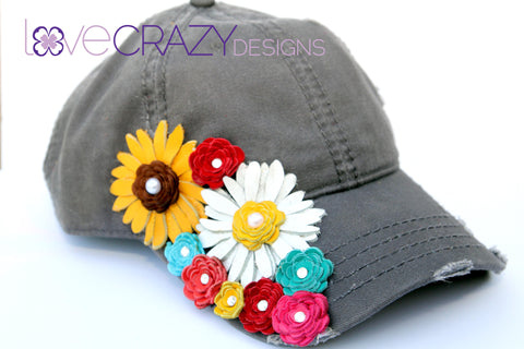 Baseball Hat, Women's Bling Hat - LoveCrazy Designs