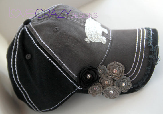 Baseball Hat, Show mom - LoveCrazy Designs