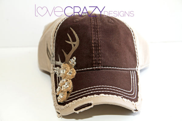 Baseball Hat, Stag - LoveCrazy Designs