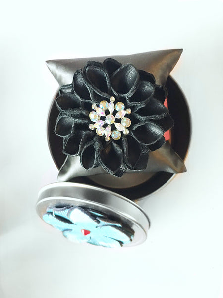 Emily flower cuff - LoveCrazy Designs