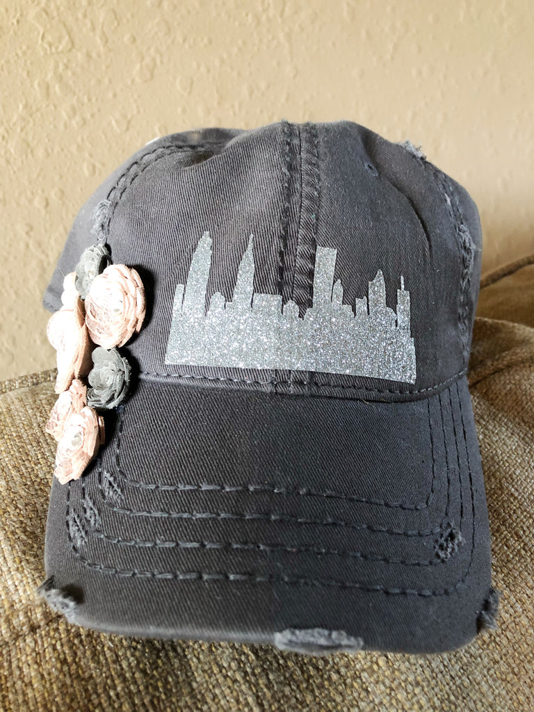 Skyline Baseball Hat - LoveCrazy Designs