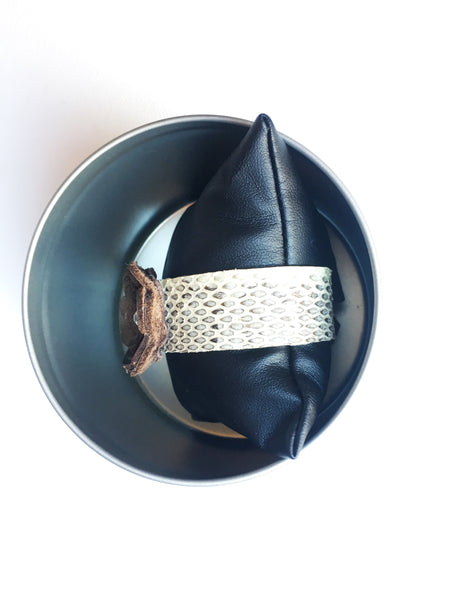 Cathy Snakeskin Cuff - LoveCrazy Designs