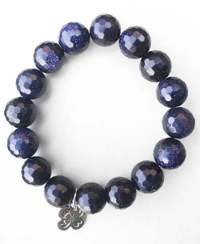 Goldstone Beaded Bracelet - LoveCrazy Designs