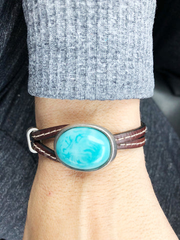 Turquoise Wrap - LoveCrazy Designs