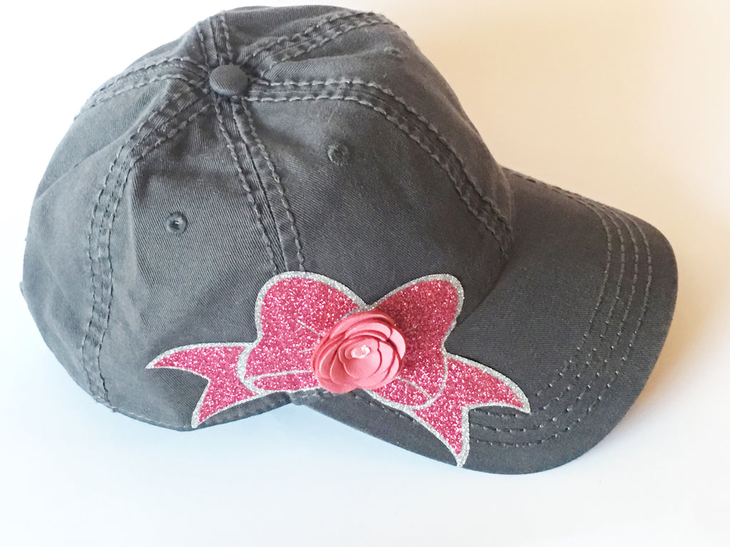 Baseball Hat - Bow