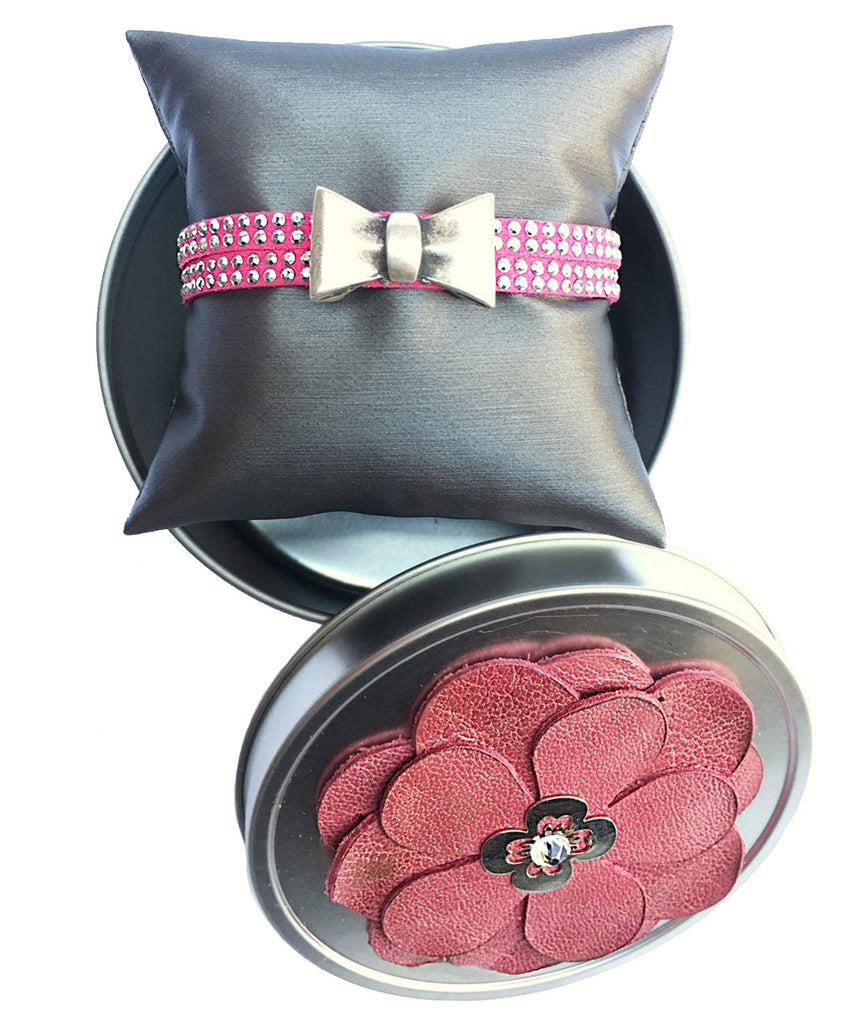 Impson Double Studded Bow Wrap - LoveCrazy Designs