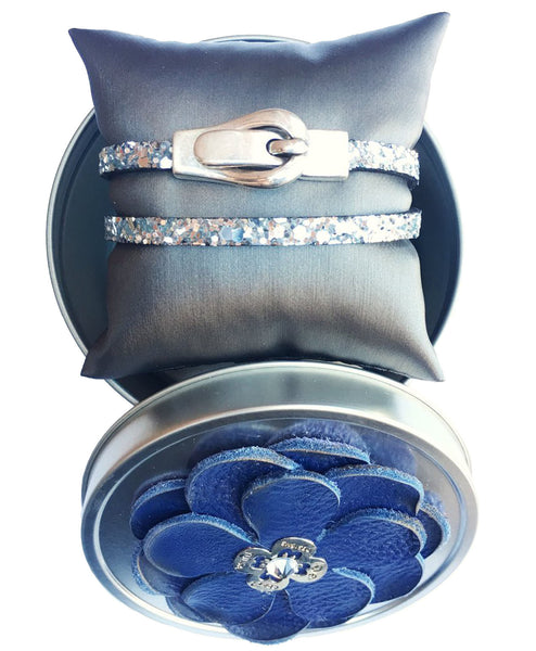 Magnolia Wrap Buckle Bracelet - LoveCrazy Designs