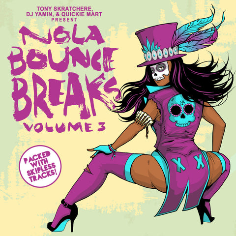 "NOLA Bounce Breaks Vol. 3 7"" Vinyl"