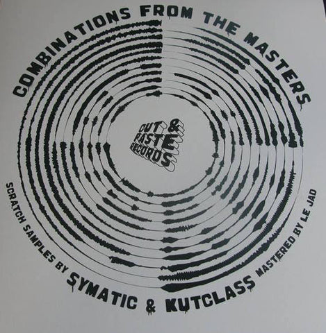 "Cut & Paste Records - Combinations from the Masters 12"" Black Vinyl (CNP002)"