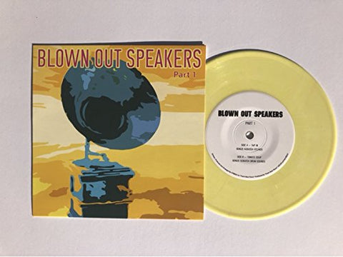 "DJ VFRESH - Blown Out Speakers Part 1 - 7"" Yellow Vinyl"