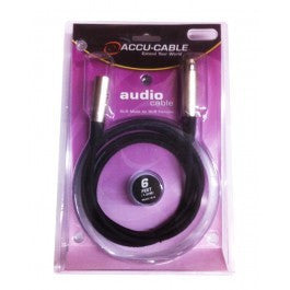 Accu-Cable XL-6 6 Ft XLR Male to XLR Female