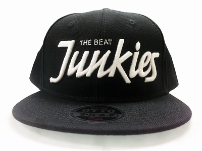 Beat Junkies Snapback Hat - Black
