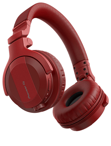 Pioneer DJ HDJ-CUE1BT - DJ Headphones - Red