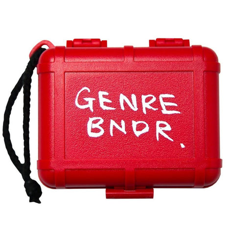 Stokyo x Genre Bndr Black Box Limited Edition - Red