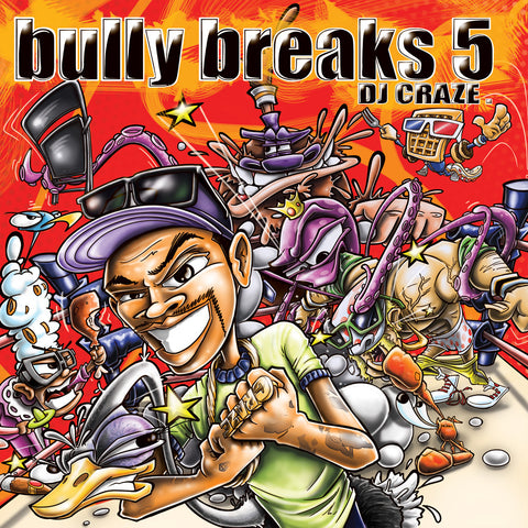 DJ Craze - Bully Breaks 5 Traktor Control Vinyl