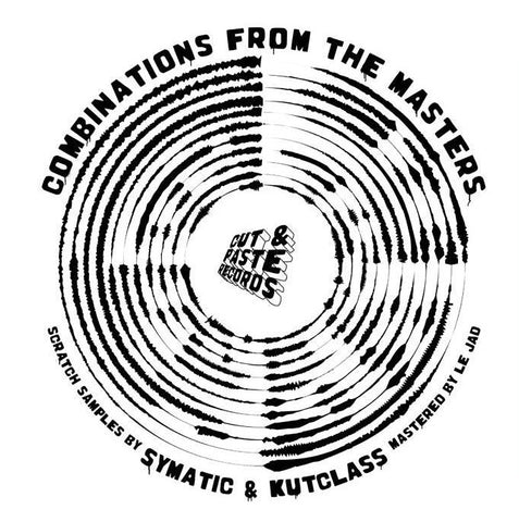 "Cut & Paste Records - Combinations from the Masters 12"" Powder Blue Vinyl (CNP002)"