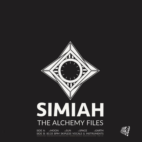 "Cut & Paste Records - 12"" CNP008 Simiah - The Alchemy Files"