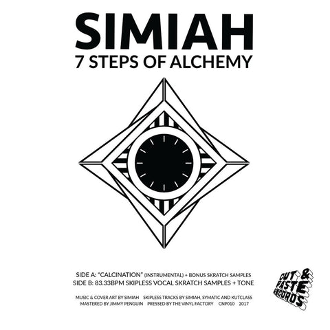 "Simiah - 7 Steps Of Alchemy 7"" Vinyl (CNP010)"