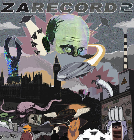 "Cut & Paste Records - Zarecord 2 - 12"" Vinyl"