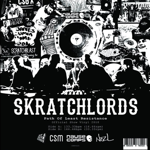 "Stunts One - Skratch Feud 7"" Red Vinyl"