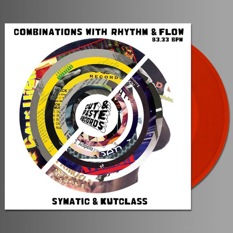 "Cut & Paste Masters - 7"" - Red Vinyl -Combinations with Rhythm and Flow (CNP003)"