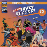 DJ Suspect - Cut The Funky Record - 12