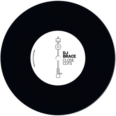 "DJ Brace - Close Cuts 7"" Scratch Record"
