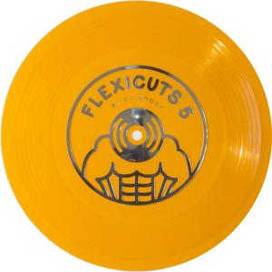 "DJ Woody - FLEXICUTS 5 (7"" Orange Flexidisc)"