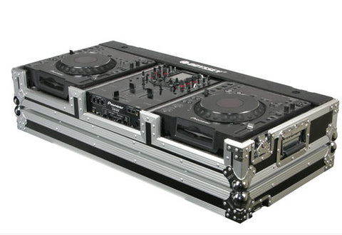 Odyssey FR10CDJW Flite Ready DJ Large Format CD Coffin Case