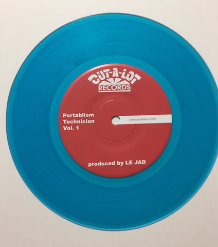 "A DJ Named Flow - HEAVY!!! 7"" Vinyl"
