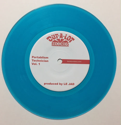 "Bubonic 7"" White Vinyl Skratch Record"