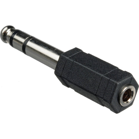 "Hosa GPM-103 3.5mm TRS to 1/4"" TRS Adaptor"