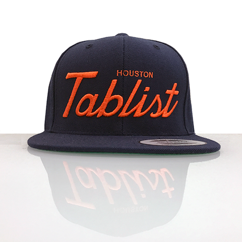 Houston Tablist Snapback - Blue/Orange