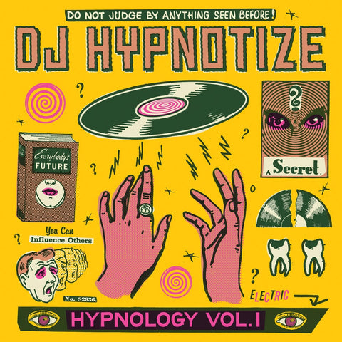 DJ Hypnotize - Hypnology Vol.1 - 12' White Vinyl