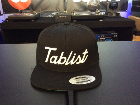 Tablist Snapback - Black/White