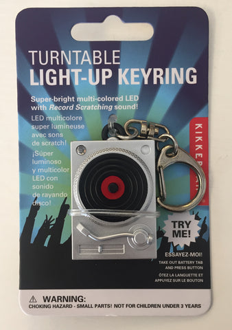 Light-Up Turntable Keyring