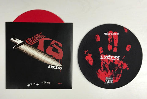 "Battle Ave - Killable Syllables 7"" Red Vinyl with Slipmat"