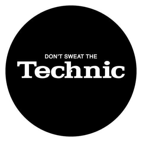 Don't Sweat the Technic Slipmats