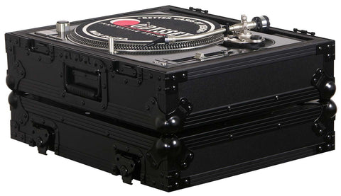 Odyssey FZ1200BL Black Label Turntable Flight Case