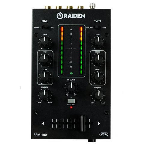 Raiden Fader RPM-100 Portable Mixer