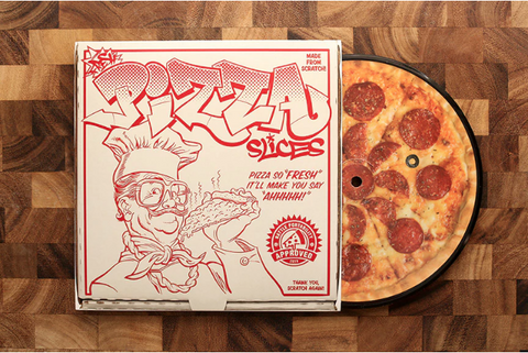 "7"" Vinyl Record - Fresh Pizza Slices"