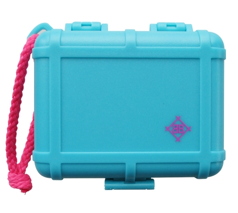 Stokyo Black Box Cartridge Case (Blue Glow In The Dark with Magenta)