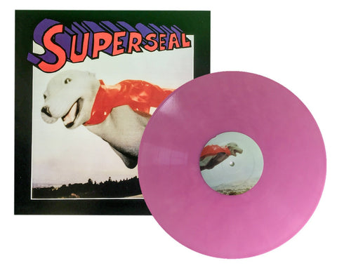 "Superseal - Skratchy Seal 12"" Pink Vinyl"