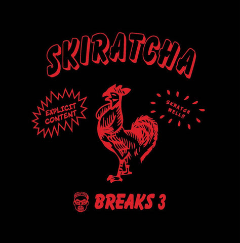 "DJ A1 - Skiratcha Breaks - 7"" Vinyl - Clear"